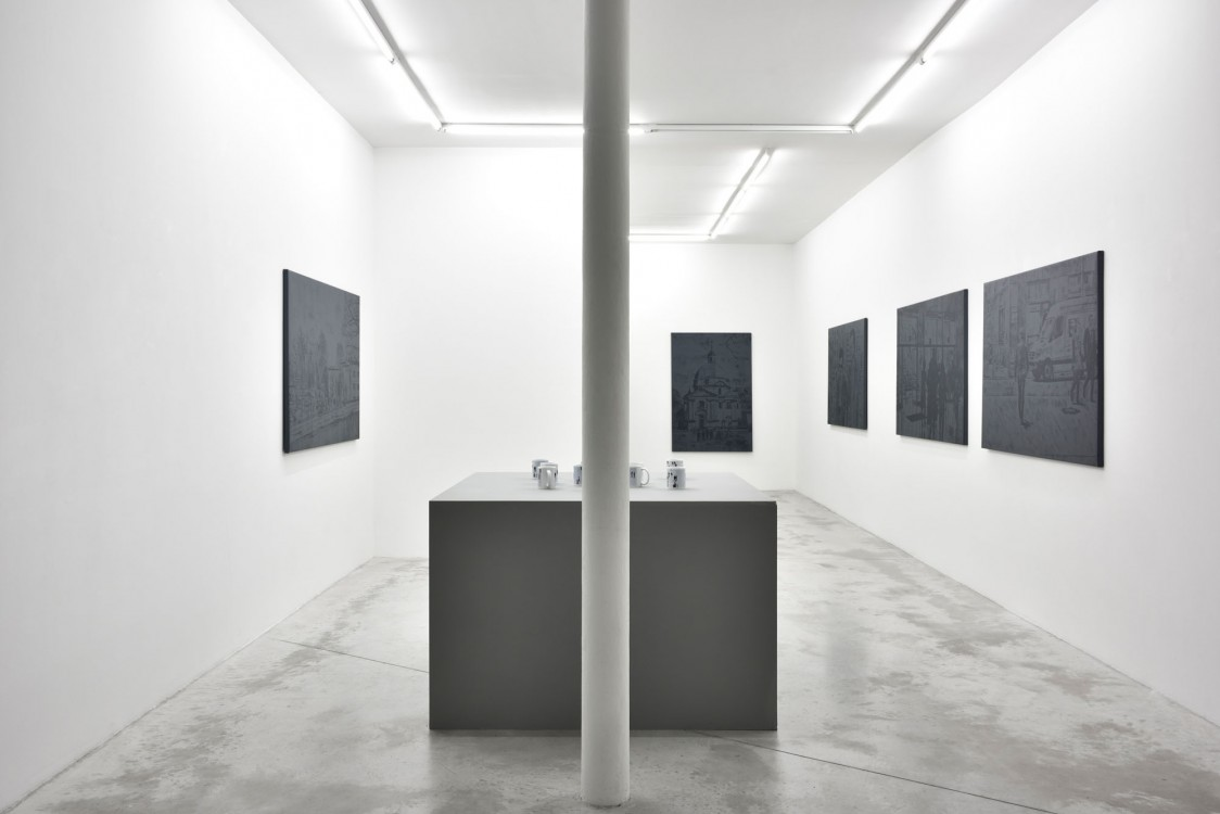 Walking in the City Galerie Praz-Delavallade, 2017