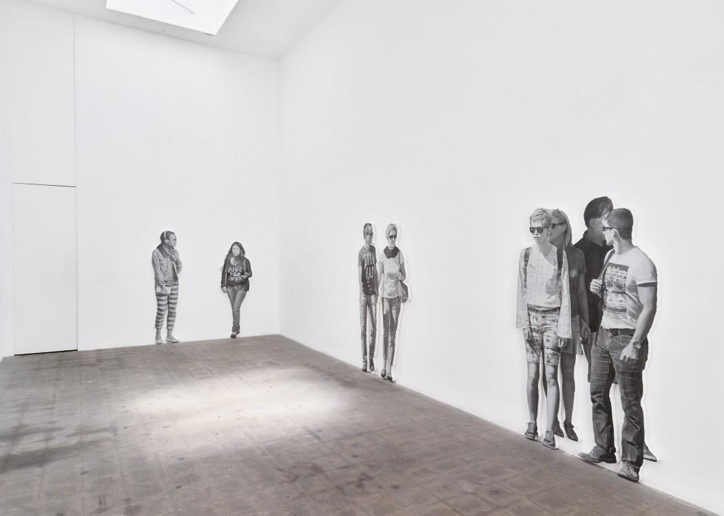 Relations in Public Richard Telles Fine Art, 2016